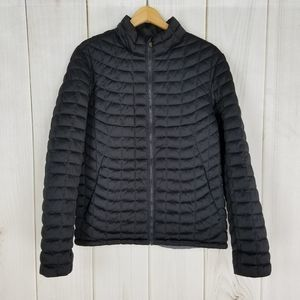 Ben Sherman Black Quilted Puffer Jacket